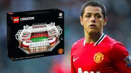 Chicharito compra Old Trafford... ¡pero de Lego!