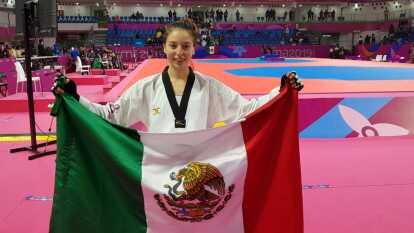 Oro - Daniela Souza - TKD, -49kgs.