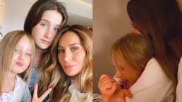 Geraldine Bazán presume orgullosa la linda relación que tienen sus hijas
