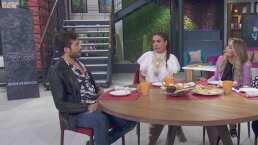 Galilea Montijo y Andrea Legarreta coquetean con Rodrigo Guirao y lo integran a su top ten de actores guapos