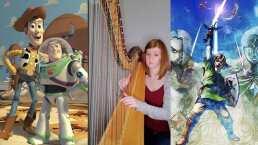 Al corazoncito y más allá: Tiktoker toca música de Toy Story y Zelda con su arpa