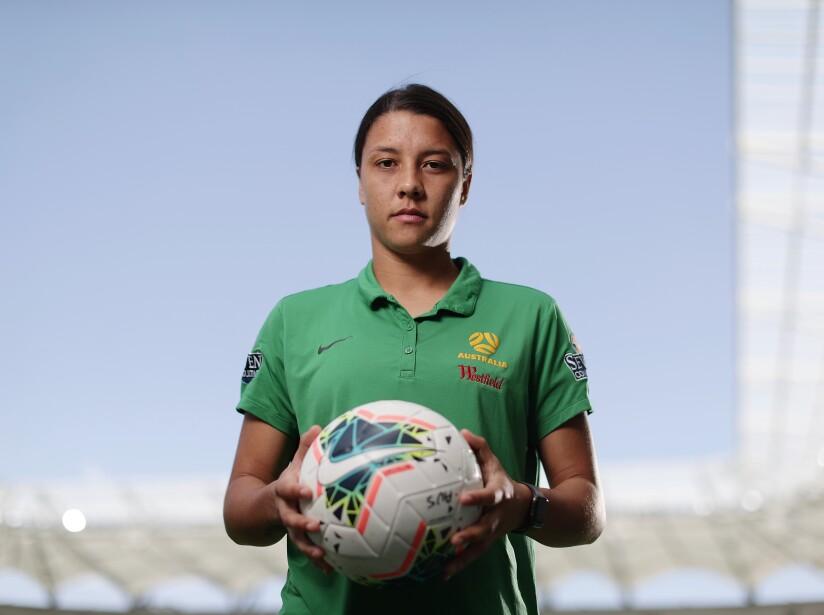 Australia Matildas Press Conference & Training Session