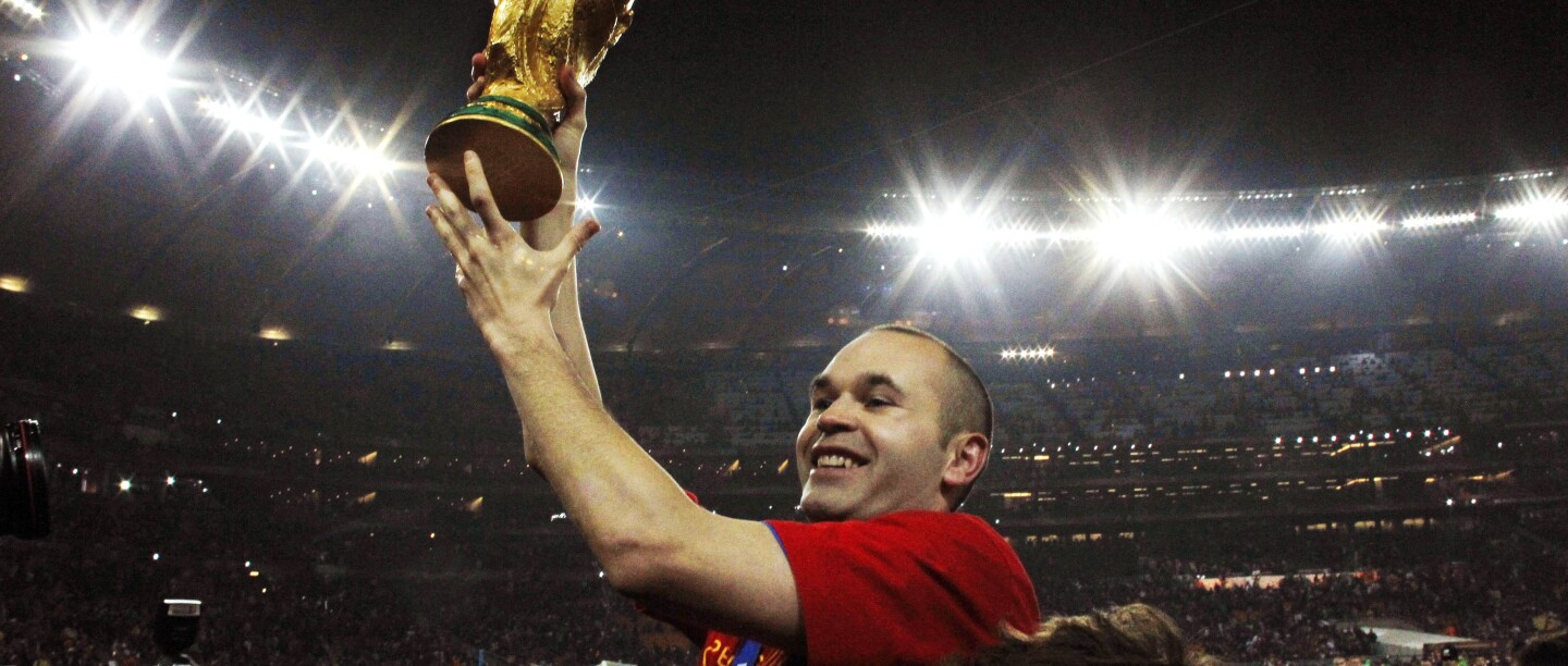 South Africa Soccer WCup Final Netherlands Spain