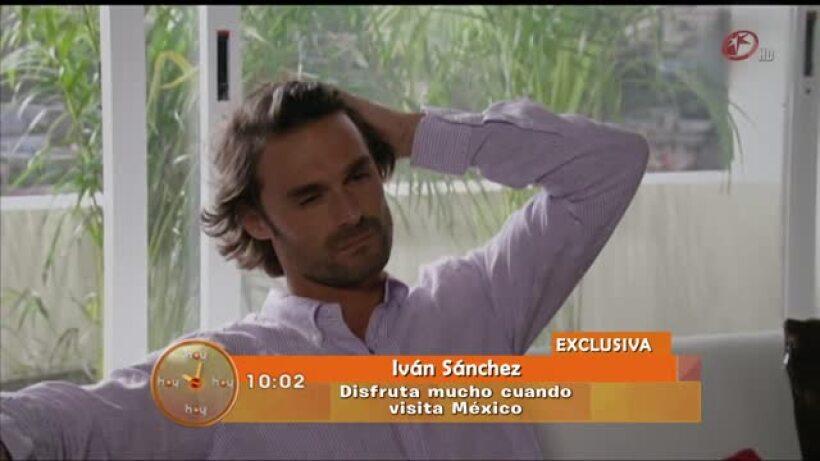 Iván Sánchez regresó de vacaciones