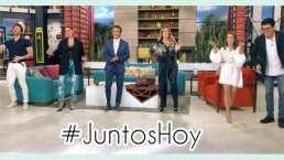 """Galilea Montijo, Andrea Escalona y Lambda García regresan muy felices a Hoy: """"Se está llenando la casa"""""""