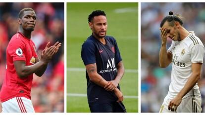 Neymar, Pogba, Bale, Dybala, James o Eriksen, los mejores jugadores del mundo que no pudieron salir de sus equipos.
