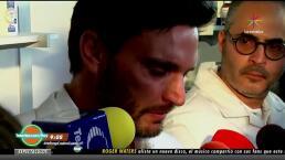 IMPERDIBLE: Julián Gil rompe en llanto cuando le preguntaron por Marjorie de Sousa