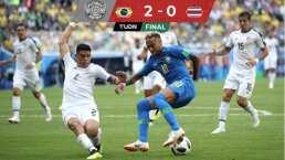 Futbol Retro l Brasil acabó con la esperanza de Costa Rica en la reposición