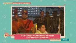 Christian Félix y su Máximo Grado dan un adelanto en vivo de su nuevo sencillo 'No Me Gusta Tomar'