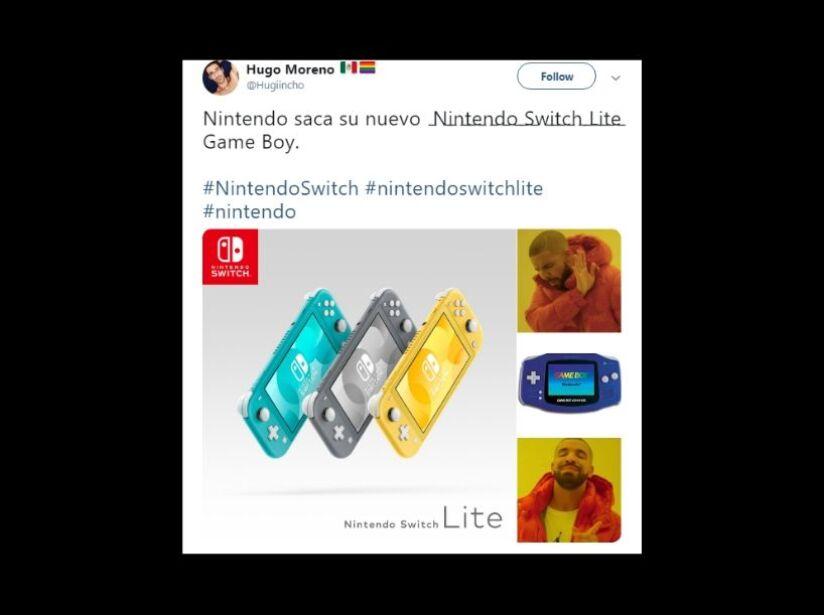 Nintendo Switch Lite Memes, características