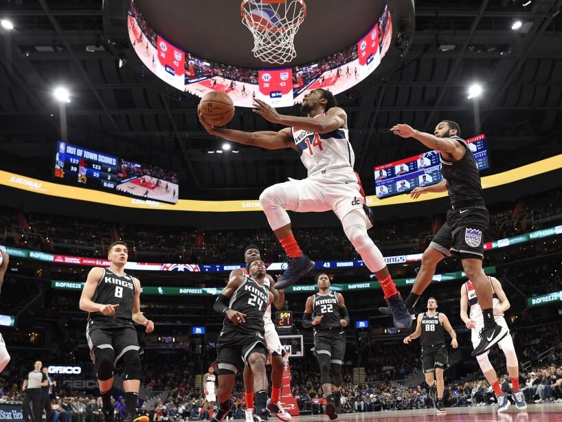Kings Wizards Basketball