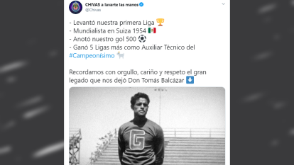 El adiós de su club, de las Chivas Rayadas de Guadalajara.