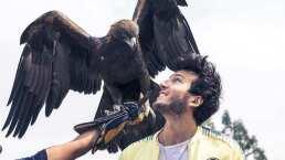 Sebastián Yatra es picoteado por el águila de Club América