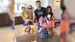 """""""¡Por fin juntas!"""": Jacqueline Bracamontes celebra el cumpleaños número 7 de """"mini"""" Jacky"""
