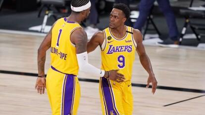 Anthony Davies vuelve a superar los 30 puntos en la victoria 114-108 de los Lakers sobre los Nuggets.
