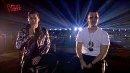 Carlos Rivera y Manuel Turizo roban suspiros al cantar juntos por primera vez en La Voz Kids