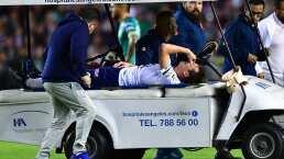 ¡Terrible lesión! Eugenio Pizzuto se fracturó en su debut