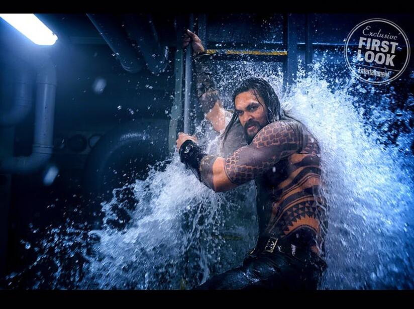Presentan nuevas imágenes de 'Aquaman'