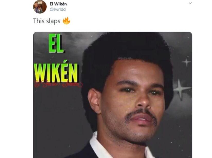 The Weeknd cambió de look y el Internet se burló de él con memes
