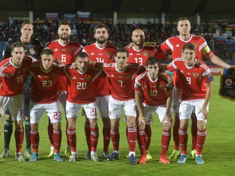 San Marino Russia Euro 2020 Soccer
