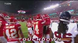 ¡Le dieron la vuelta! Sammy Watkins se lanza para el touchdown