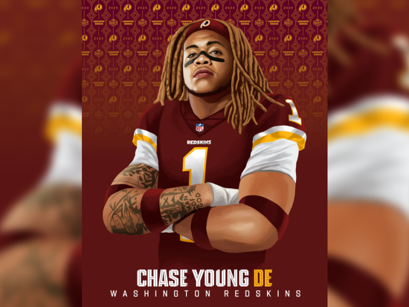Chase Young, Draft, 1.png