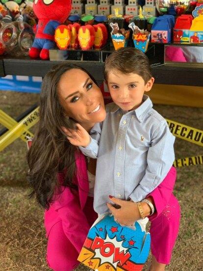 El pasado 29 de mayo, Inés Gómez Mont realizó la fiesta de cumpleaños de su hijo Bosco.