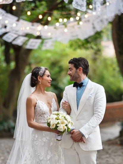 El sábado 18 de mayo, la actriz y cantante Bianca Marroquín cumplió otro más de sus sueños: unir su vida en matrimonio con Joseph Schottland.