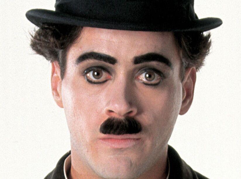 Downey Jr. encarnó al cómico Chaplin en 1992, cinta dirigida por Richard Attenborough.
