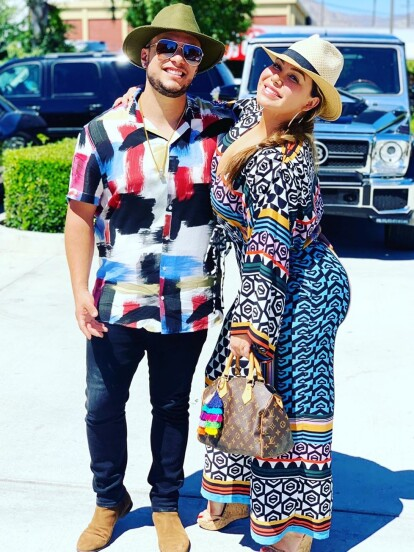 Tras celebrar su boda el pasado 29 de junio, Lorenzo Méndez y Chiquis Rivera disfrutan de un romántico viaje a Puerto Rico.