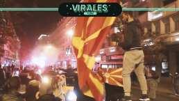 Fiesta nacional en Macedonia por pase a la Euro 2020