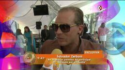 Salvador Zerboni niega malas relaciones en Quiero amarte