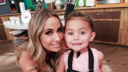 Odalys Ramírez cocina con su hija Gia: 'Trufas'