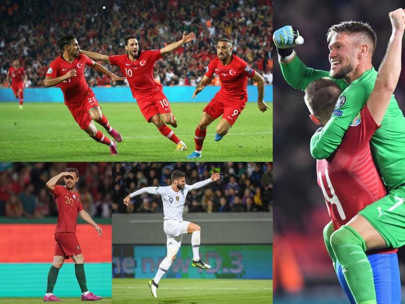 Ganaron Ucrania, Turquía, Portugal, Francia, República Checa y Andorra.