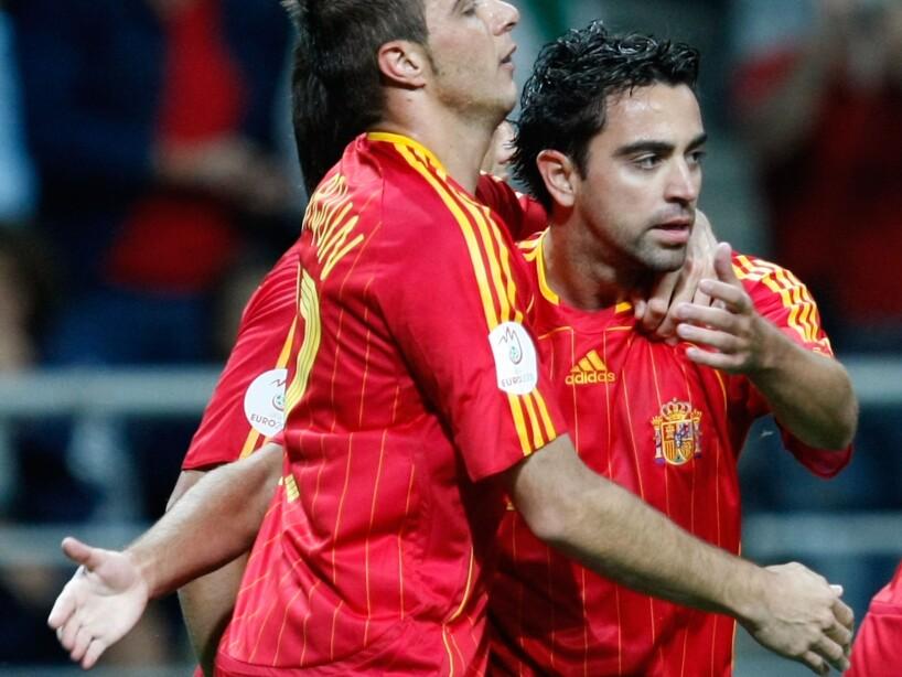 Euro2008 - Spain v Latvia
