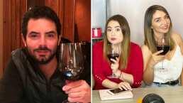 Reunión de José Eduardo Derbez y actrices de Una familia de diez se descontrola y así lo exhiben