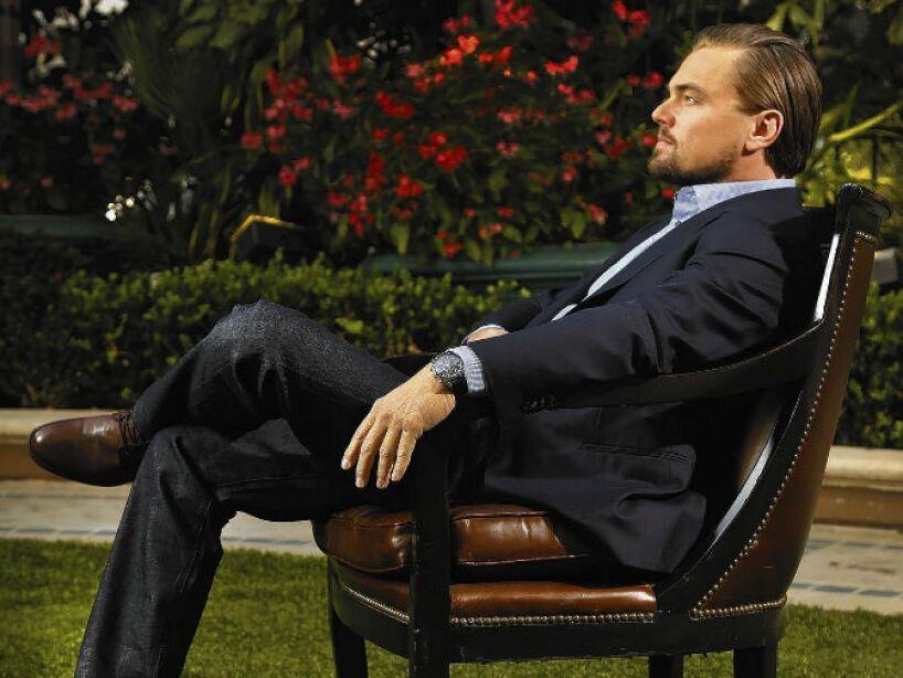 8. Leonardo DiCaprio: Aunque ha tenido muchas novias modelos, este galán no sienta cabeza y todo parece ser una pantalla.