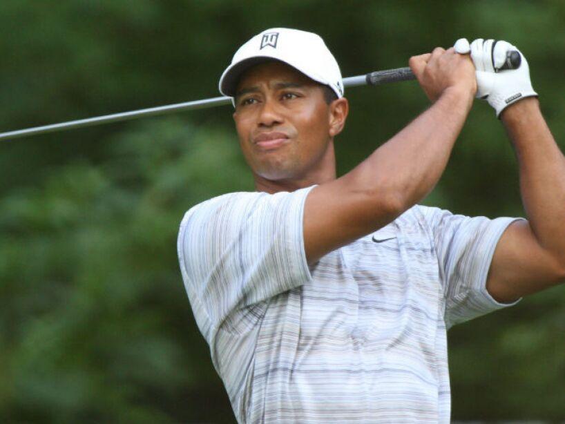 13. Tiger Woods: El golfista ha donado 1,350,000 dólares a su centro de enseñanza.