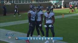 ¡Una locomotora! Derrick Henry corrió 36 yardas al touchdown