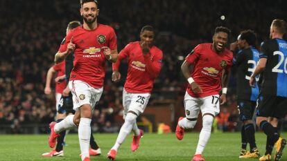 El Manchester United goleó, el Leverkusen sorprendió a domicilio mientras los Wolves de Jiménez perdieron, pero avanzaron, y todos los resultados de los 16vos de la Europa League.