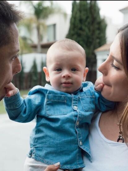 El pasado 16 de diciembre, Noah, el hijo de Javier 'Chicharito' Hernández y Sarah Kohan, cumplió seis meses de edad, por ello sus padres le dedicaron un emotivo mensaje.