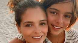 Grettell Valdez revela que su hijo Santino, de 12 años, ya tiene novia y es el más feliz