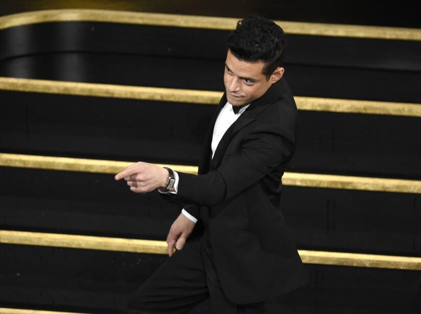 Rami Malek en los Premios Oscar