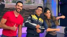 """El oficial que ganó el reto de lagartijas visitó el programa 'Hoy' para inspirar: """"Hay que ser perseverantes"""""""