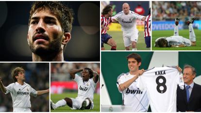 Lucas Silva abandonó al Real Madrid tras 4 años y 8 partidos. Recordamos otros fichajes decepcionantes del conjunto blanco.