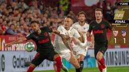 ¡Duelo de mexicanos! Sevilla y Atlético de Madrid dividen puntos
