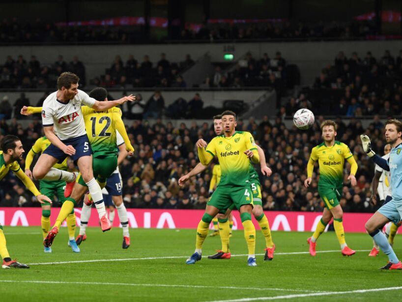 Tottenham Hotspur v Norwich City - FA Cup Fifth Round
