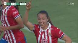 ¡Chivas Femenil no tiene piedad! Michelle González consigue el 2-0