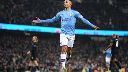 Con doblete de Gabriel Jesús, el City vence 2-1 al Everton, Richarlison descontó para los Toffes. Los Citizens conservan el tercer lugar de la Premier.