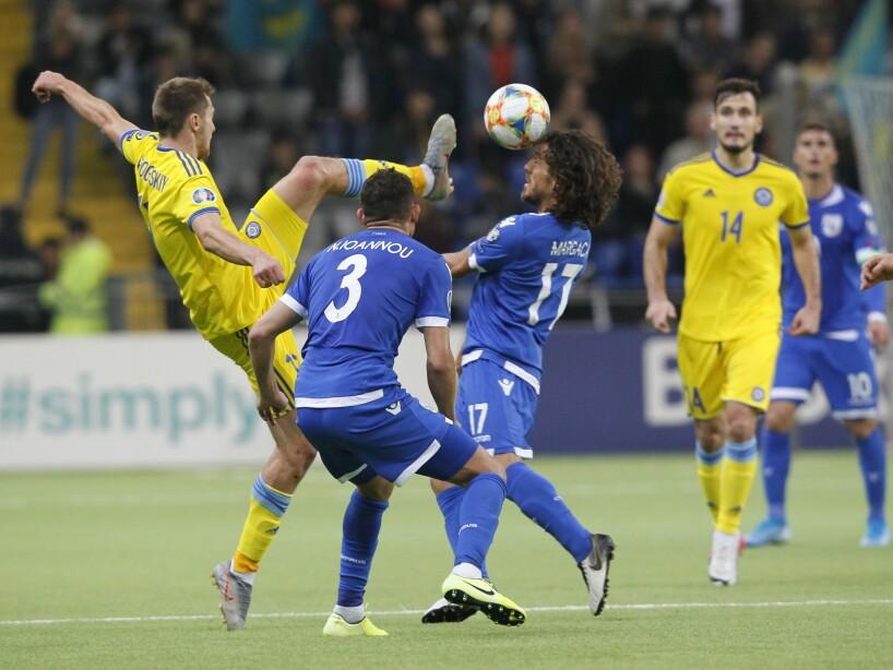 Kazakhstan Cyprus Euro 2020 Soccer